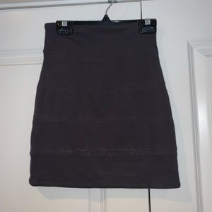 Grey Tight Skirt, Aritzia, Size 0